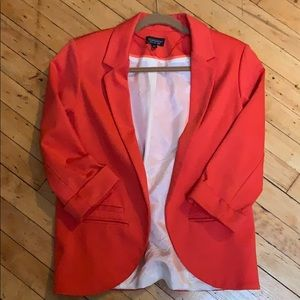 Top shop interlock blazer